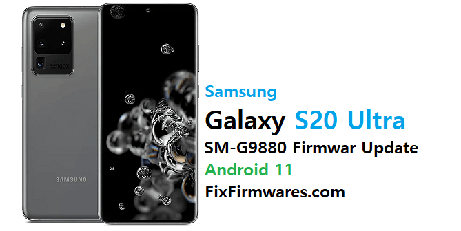 SM-G9880 Firmware Update Android 11