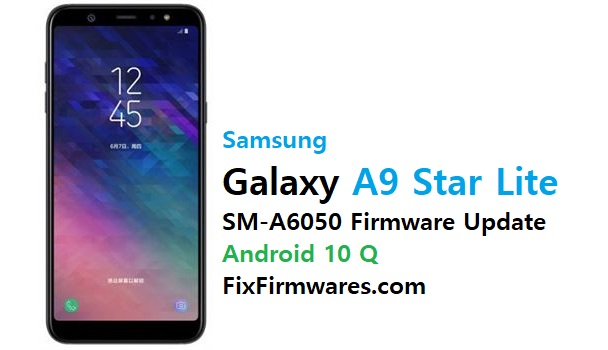 SM-A6050 Firmware (Flash File) Android 10 Q Update