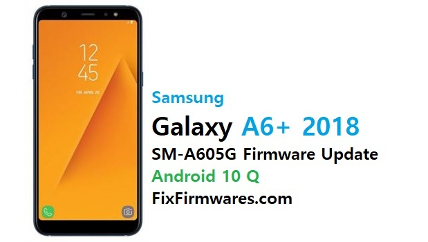 SM-A605G Firmware (Flash File) Android 10 Q Update