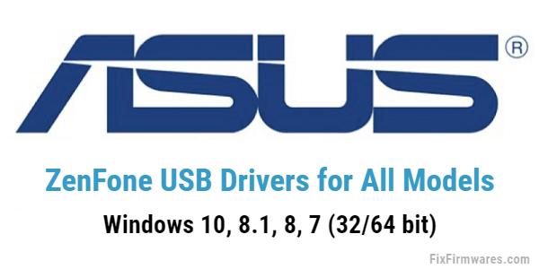 Asus USB Driver (ZenFone USB Driver)
