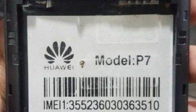 Huawei Clone P7-L01 Flash File Without Password   FixFirmwareX