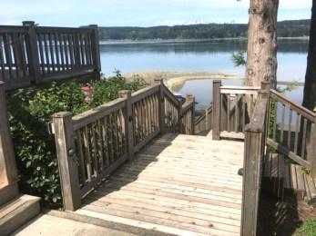 Beach Deck Stairs