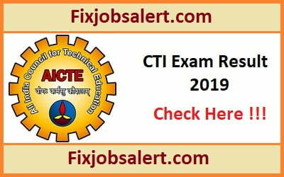 CTI Entrance Exam Result 2019 Download CITS Merit List, Counselling Date
