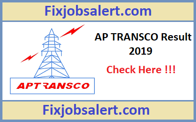 AP TRANSCO AEE Result 2019 AP Assistant Executive Engineer Cut Off