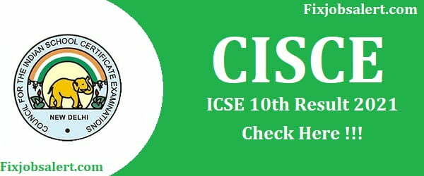 ICSE 10th Result 2021 Declare CISCE ICSE Results Name Wise @ results.cisce.org