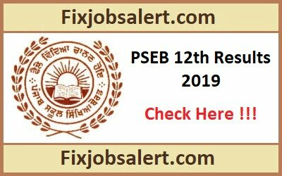 PSEB 12th Result 2019 Declared Punjab Board 12th Class Results @ pseb.ac.in