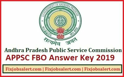 APPSC FBO Answer Key 16 June 2019 Download Forest Beat Officer Exam Paper Solution