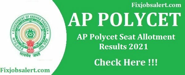 AP Polycet Seat Allotment Results 2021 @ appolycet.nic.in Allotment Order College Name Wise List