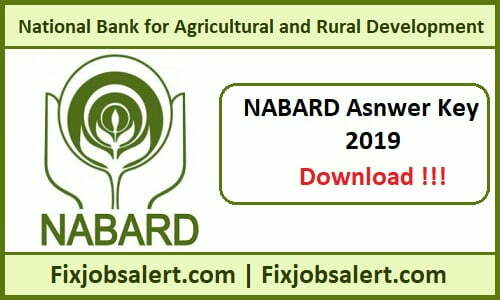 NABARD Assistant Manager Answer Key 2019 15th & 16th June Grade A, B Paper Solutions, Cut Off