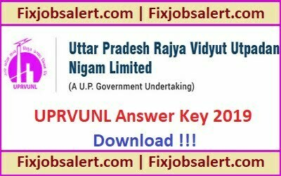 UPRVUNL JE Answer Key 2019 18th June Ques Paper Solution, Cut Off Marks