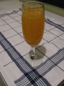 Honey Tangerine Mimosa
