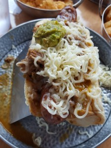 green chili dog