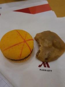 macaron and praline