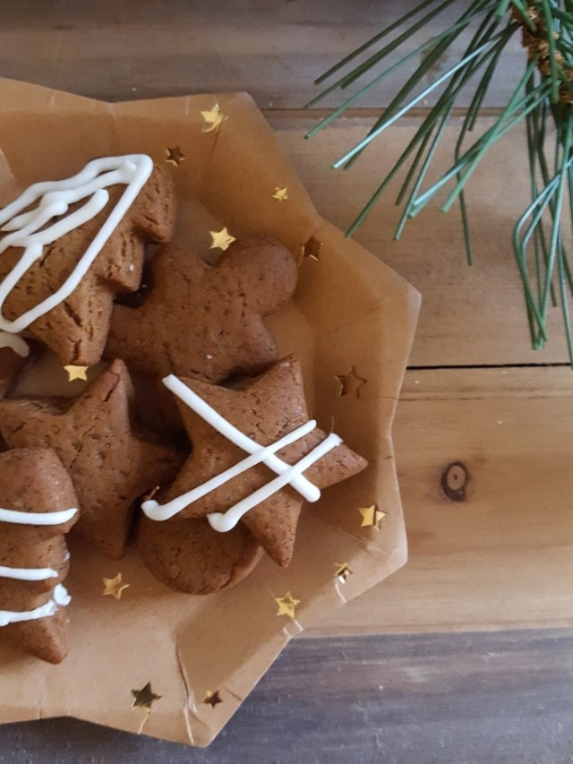 Mini Gingerbread Cookies