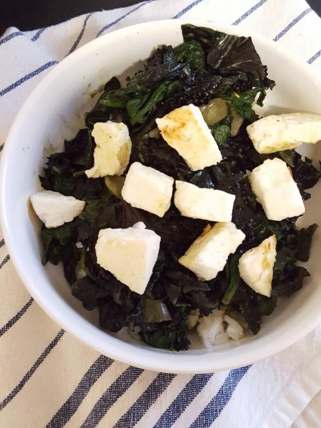Kale Spinach Saag Paneer