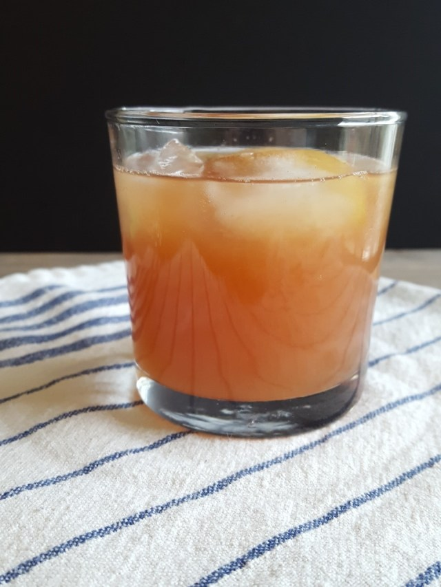 Grapefruit Whiskey Sour with Star Anise