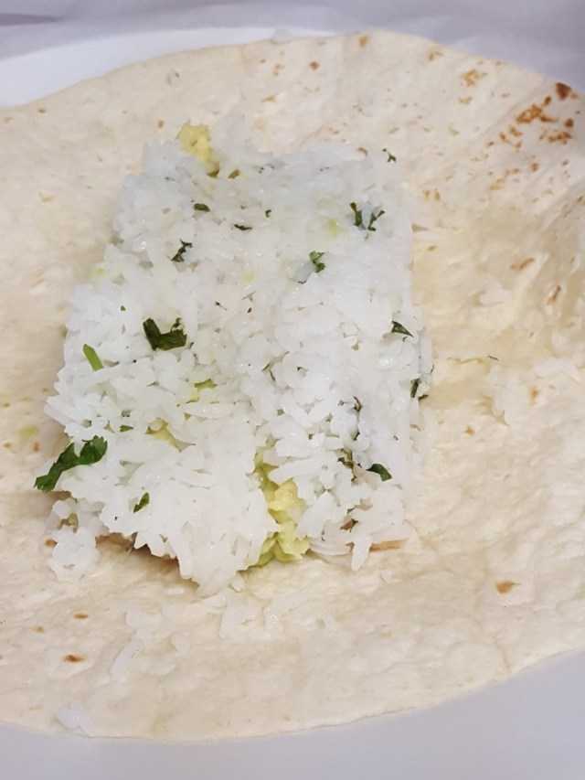 White Bean Avocado Wrap