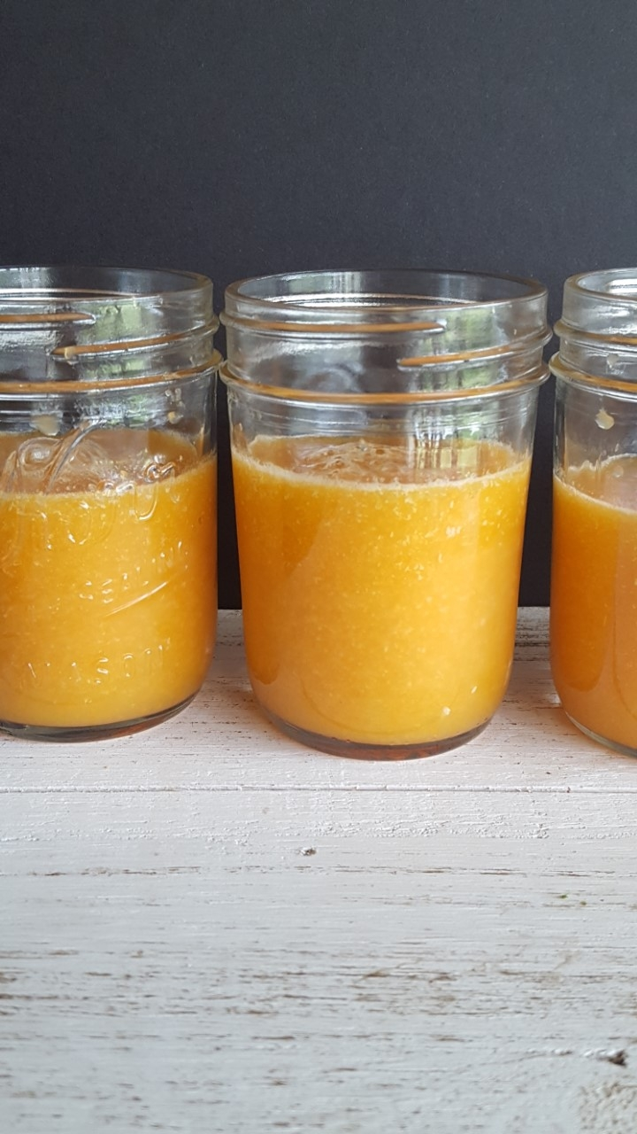 Sunshine Powered Carrot Smoothie