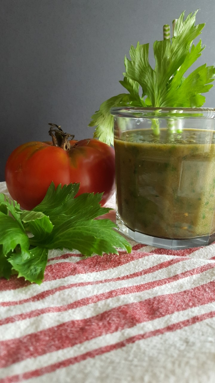 Tomato Celery Green Smoothie