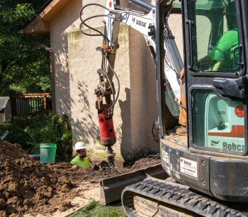foundation repair with piers