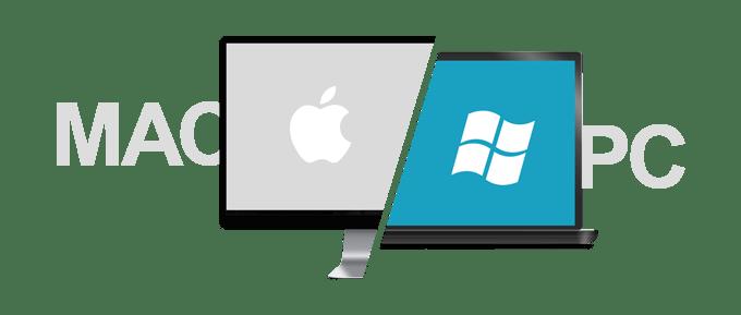 We repair both MAC and PC computers