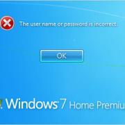 reset windows password
