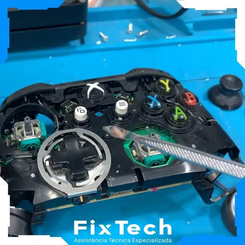 Conserto de controle de xbox