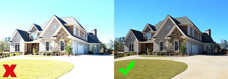 exterior real estate photography lighting