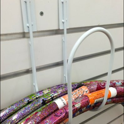 Hoola Hoop Hanger for Slatwall 2