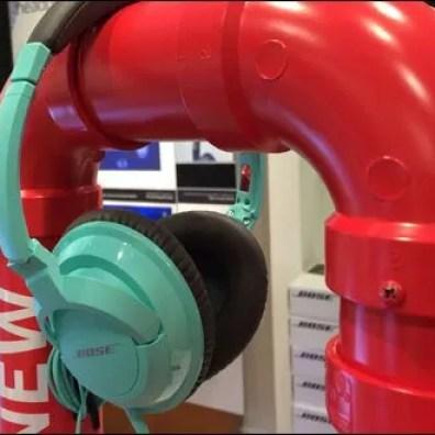 Bose PVC Pipe Headphone Display 3