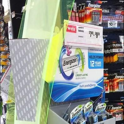 Energizer Swoosh Battery POP 3