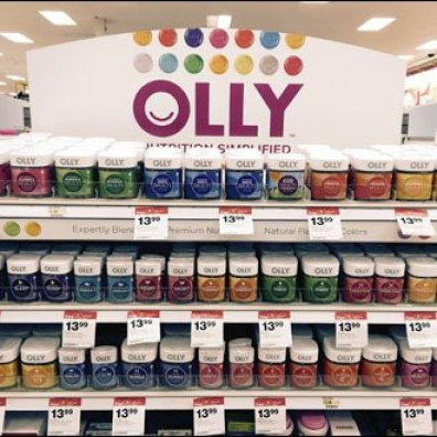 Olly® Nutrition Color-Coded Shelf Edge Merchandising