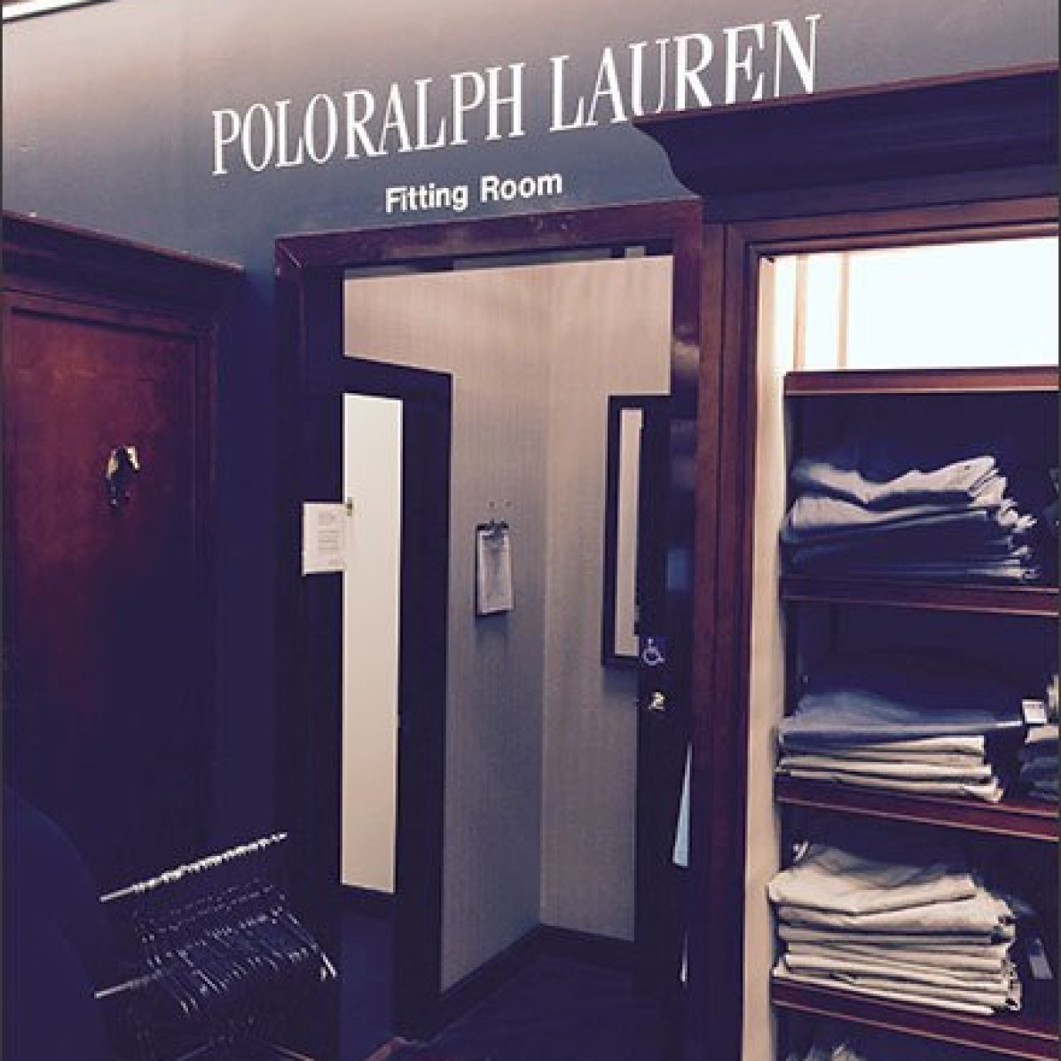 Fitting Room Exclusivity by Polo Ralph Lauren®