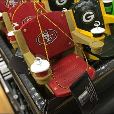 Team Branded Football Chair Miniatures 3