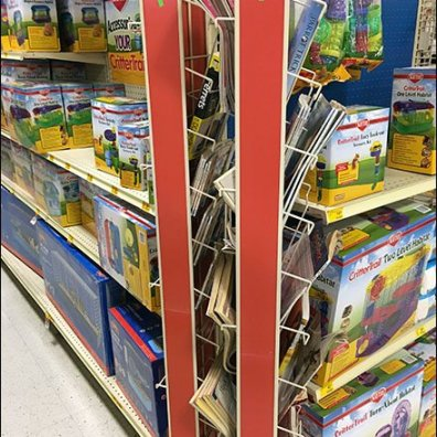 Literature Swing Away PowerWing Rack 6