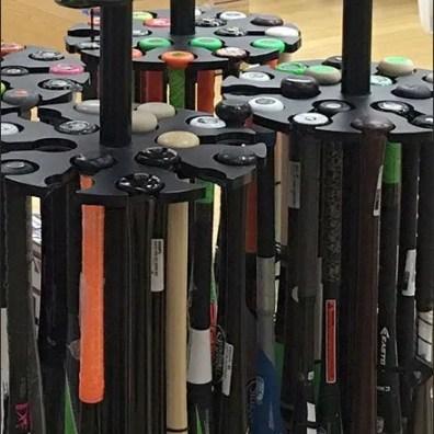 Easton Baseball Bat Rack 3