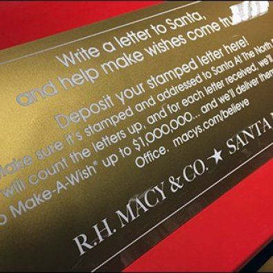 Macys Santa Mail Instructions Verbatim