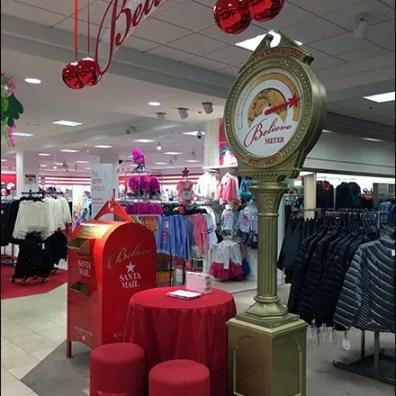 Macys Santa's Mail Mailbox
