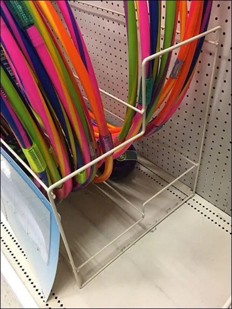 Hula Hoop Merchandising Rack 3