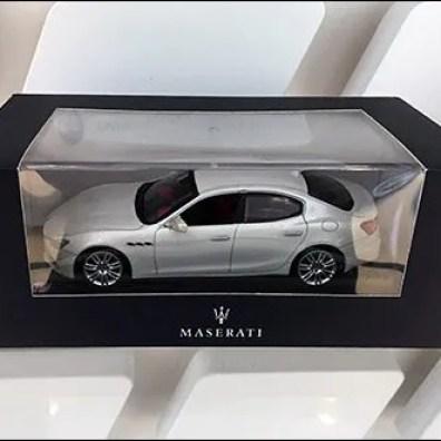 Maserati Miniature Models On Custom Slatwall