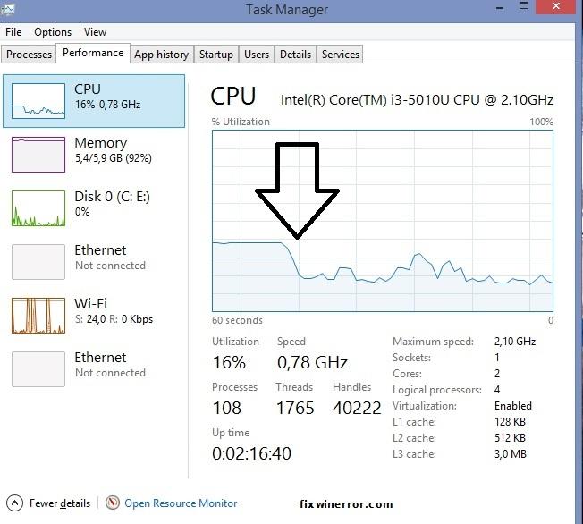 Fix High CPU Usage