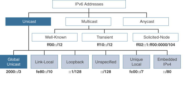 Address Unicast