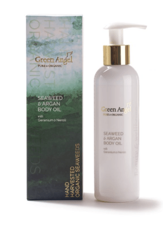 Green Angel Skincare Seaweed and Argan Body Oil