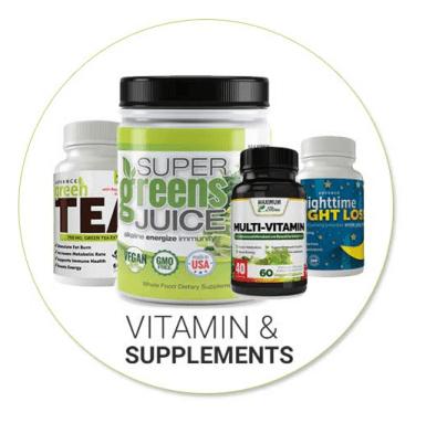 Maximum Slim Vitamins and Supplement Range