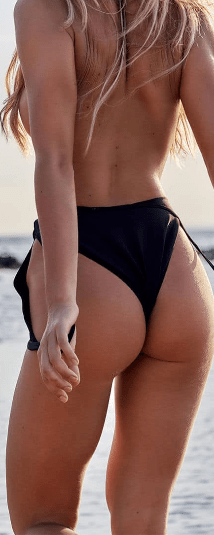 Cut stubborn fats from the buttocks
