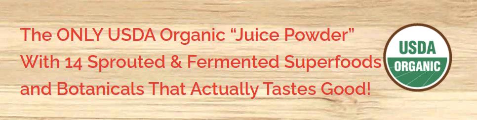 Organigreens ONLY USDA Organic