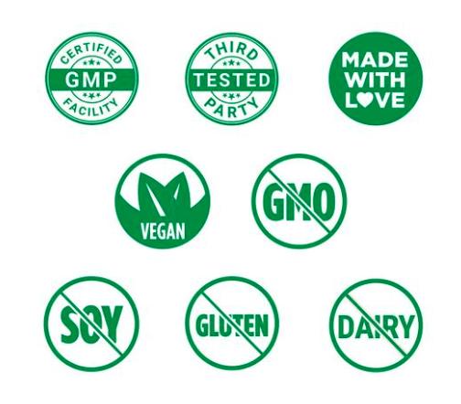 Vitamin D3 Green Logo