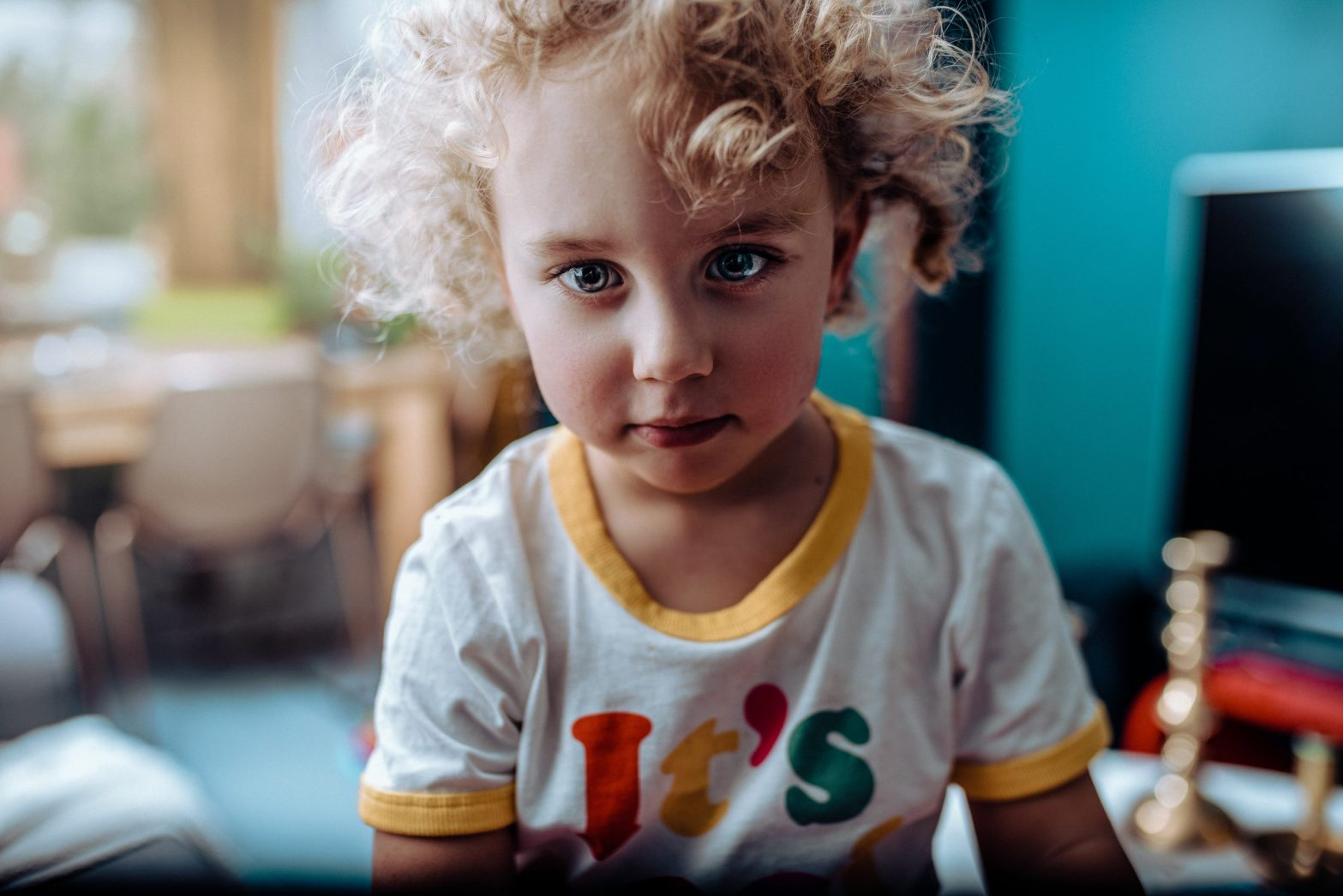 Portrait of an adorable toddler - unmet childhood needs