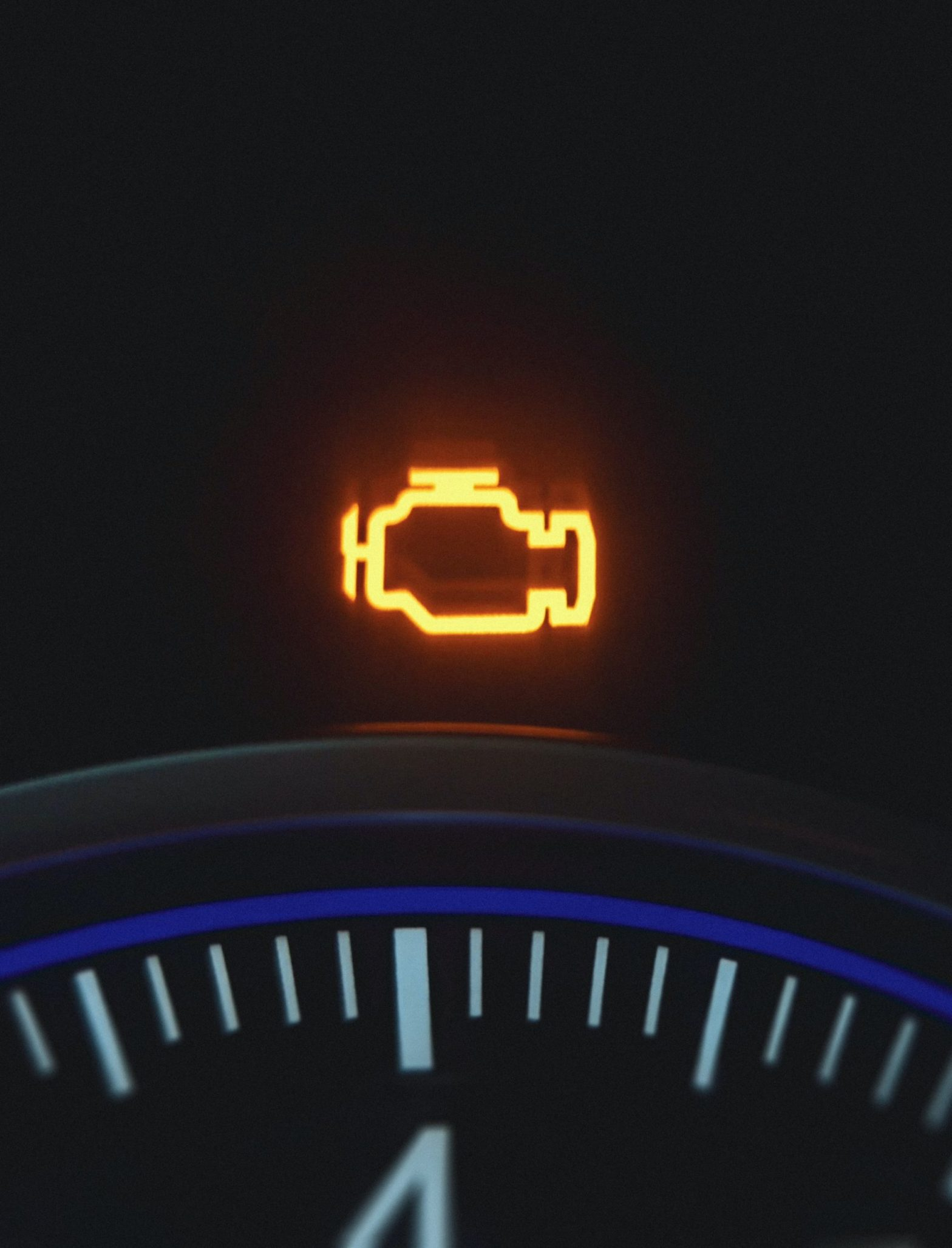 Illuminated check engine light–the equivalent of ignoring your feelings