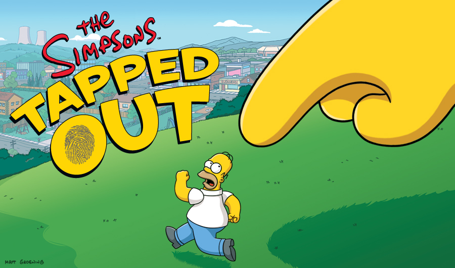 The Simpsons: Tapped Out, for the iOS system & it's loads of fun.